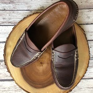 LL Bean signature penny loafers